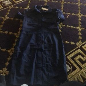 J crew navy dress size 10 new with tags